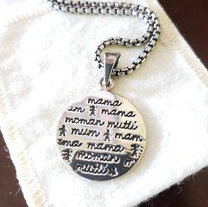 Mother's Keepsake  .925 Silver pendant